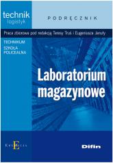 Laboratorium magazynowe podręcznik Technikum, szkoła policealna -  | mała okładka