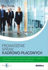 Prowadzenie spraw kadrowo-płacowych A.35.2 - Janina Mierzejewska-Majcherek | mała okładka