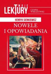 Nowele i opowiadania - Henryk Sienkiewicz | mała okładka