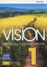 Vision 1 Student's Book Szkoła ponadpodstawowa i ponadgimnazjalna - Quintana Jenny, Duckworth Michael | mała okładka