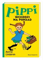 Pippi wchodzi na pokład - Astrid Lindgren | mała okładka