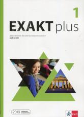 Exakt plus 1 Język niemiecki Podręcznik z płytą CD Szkoła ponadpodstawowa - Giorgio Motta | mała okładka