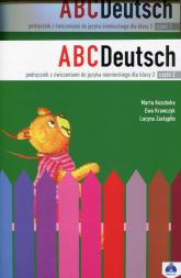 ABC Deutsch 2 Podręcznik z ćwiczeniami + płyta CD - Krawczyk Ewa, Zastąpiło Lucyna, Kozubska Marta   mała okładka