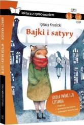 Bajki i satyry Lektura z opracowaniem - Ignacy Krasicki | mała okładka