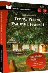 Treny Pieśni Psalmy i Fraszki Lektura z opracowaniem - Jan Kochanowski | mała okładka