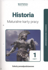 Historia 1 Maturalne karty pracy Część 1 Zakres rozszerzony - Marek Dawidziuk | mała okładka
