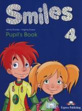 Smiles 4 Pupil's Book - Dooley Jenny, Evans Virginia | mała okładka