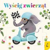 Czytanki - układanki Wyścig zwierząt -  | mała okładka