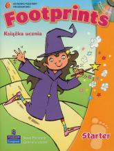 Footprints Starter Książka ucznia z CD Szkoła podstawowa - Marsland Steve, Lazzeri Gabriella | mała okładka