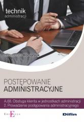 Postępowanie administracyjne - Małgorzata Romaniuk | mała okładka