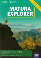 Matura Explorer Advanced Student's Book + DVD Szkoła ponadgimnazjalna - Dummett Paul, Stephenson Helen, Hughes John | mała okładka