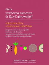 Dieta warzywno-owocowa dr Ewy Dąbrowskiej komplet - Dąbrowska Beata, Borkowska Paulina | mała okładka