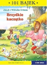 Brzydkie kaczątko 101 bajek - Grimm Jakub i Wilhelm | mała okładka