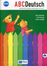 ABCDeutsch 2 Nowa edycja Podręcznik + 2CD Szkoła podstawowa - Kozubska Marta, Krawczyk Ewa, Zastąpiło Lucyna   mała okładka