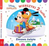 Disney Maluch Wierszyki dwulatka zimowe święta HOPS-9202 - Joanna Łagodzińska | mała okładka