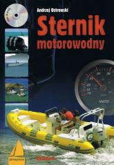 Sternik motorowodny + CD - Andrzej Ostrowski | mała okładka