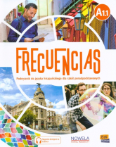 Frecuencias A1.1 Podręcznik Szkoła ponadpodstawowa -  | mała okładka