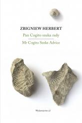 Pan Cogito szuka rady/ Mr Cogito Seeks Advice - Zbigniew Herbert | mała okładka