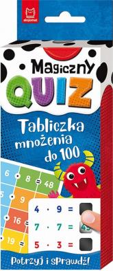 Magiczny quiz Tabliczka mnożenia do 100 - Agnieszka Bator | mała okładka