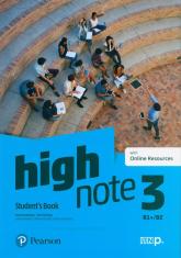 High Note 3 Student's Book + Online Szkoła ponadpodstawowa i ponadgimnazjalna - Brayshaw Daniel, Hastings Bob | mała okładka