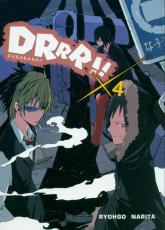 Durarara!! 4 - Narita Ryohgo, Yasuda Suzuhito | mała okładka