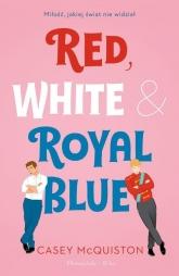 Red, White & Royal Blue - Casey McQuiston   mała okładka