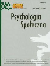 Psychologia społeczna  3/2012 -  | mała okładka