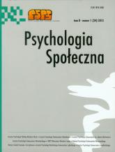 Psychologia Społeczna  1(24) 2013 -  | mała okładka