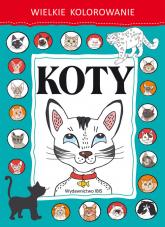 Wielkie kolorowanie Koty -  | mała okładka