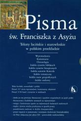 Pisma św Franciszka z Asyżu z płytą CD -    mała okładka