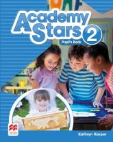 Academy Stars 2 Pupil's Book + kod online - Kathryn Harper | mała okładka