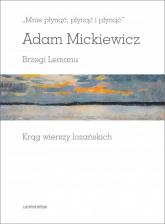 Mnie płynąć, płynąć i płynąć Brzegi Lemanu. Krąg wierszy lozańskich - Adam Mickiewicz | mała okładka