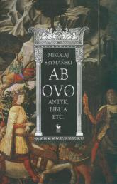Ab ovo /Iskry/ - Mikołaj Szymański   mała okładka