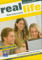 Real Life Upper-Intermediate Students' Book - Cunningham Sarah, Bygrae Jonathan, Umińska Marta | mała okładka