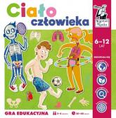 Kapitan Nauka Gra edukacyjna Ciało człowieka - Magdalena Jarzębowska | mała okładka