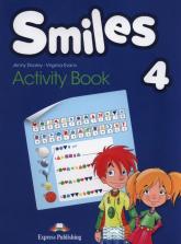 Smiles 4 Activity Book - Dooley Jenny, Evans Virginia | mała okładka