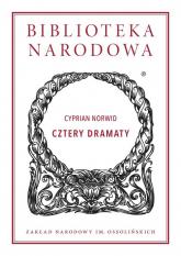 Cztery dramaty - Norwid Cyprian | mała okładka