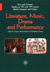 Literature, Music, Drama and Performance -  | mała okładka