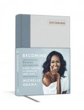 Becoming Dziennik motywacyjny, który pozwoli ci odnaleźć swój głos - Michelle Obama | mała okładka