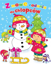 Zimowe zadania dla chłopców - Wiśniewska Anna, Wisniewski Krzysztof   mała okładka