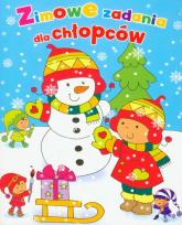 Zimowe zadania dla chłopców - Wiśniewska Anna, Wiśniewski Krzysztof Michał   mała okładka