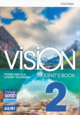 Vision 2 Podręcznik + CD Szkoła ponadpodstawowa i ponadgimnazjalna - Sharman Elizabeth, Duckworth Michael   mała okładka