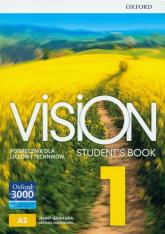 Vision 1 Podręcznik + CD Szkoła ponadpodstawowa i ponadgimnazjalna - Quintana Jenny, Duckworth Michael | mała okładka