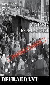Defraudant - Marek Romański | mała okładka