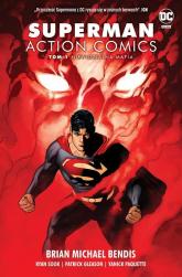 Superman Action Comics T.1 Niewidzialna mafia - Bendis Brian Michael   mała okładka