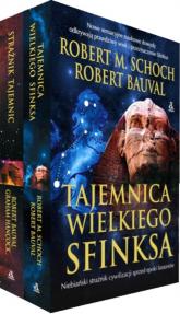 Pakiet Tajemnica wielkiego Sfinksa / Strażnik tajemnic - Robert SCHOCH, Robert BAUVAL, Graham HANCOCK | mała okładka