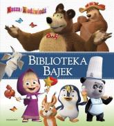Masza i Niedźwiedź Biblioteka Bajek - zbiorowe opracowanie | mała okładka