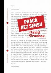 Praca bez sensu Teoria - David Graeber | mała okładka