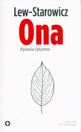 Ona Pytania intymne - Zbigniew Lew-Starowicz | mała okładka