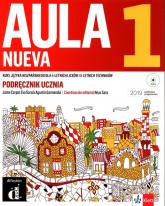 Aula Nueva 1 Podręcznik ucznia z płytą CD Liceum i technikum -  | mała okładka